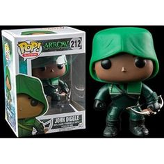 Funko Pop TV Arrow John Diggle Vinyl Figure: As a member of Oliver Queen's team, John is his partner and plays a number of roles including field support, decoy and guidance to Oliver in times of doubt. kitted out as The Hood, Diggle is ready for combat! Custom Funko Pop, Funko Pop Vinyl, Funko Pop Marvel, Funko Pop Figures, Pop Vinyl Figures, Arrow E Flash, Hobbit, Funk Pop, Vinyl Sales