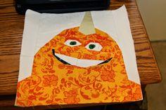 Fandom In Stitches: Hello, George! #monstersinc pattern by Allison. Free on fandominstitches.com.