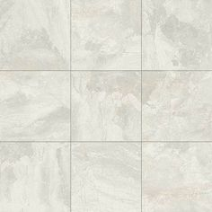 "Pool Bath Shower Walls - Daltile Marble Falls White Water MA40 12""x12"" Polished"