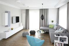 Living Room Grey, Home Living Room, Interior Design Living Room, Living Room Designs, Bed Frame, Family Room, Indoor, House, Home Decor