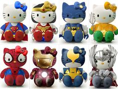 Hello Kitty - Super Heroes