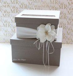 Wedding Card Box Wedding Money Box Gift Card Box - Custom Made 3de72ff85b1e