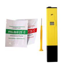 Bolsillo de La Pluma de Agua Medidor de PH Digital Tester PH-009 IA 0.0 0.0-14.0ph para la Piscina Del Acuario de Agua De Laboratorio