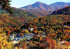 Gatlinburg, Tennessee.....   Breathtaking sight !   Looked like crayons had colored a picture !!!