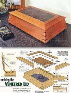 Keepsake Box Plans - Woodworking Plans and Projects   WoodArchivist.com