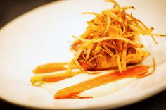Burnt Miso Glazed Chilean Sea Bass - With Parsnip Puree Roasted King Oyster Mushrooms! http://www.characters.ca/ https://www.facebook.com/pages/Characters-Restaurant/149414468402902 https://twitter.com/CharactersFood https://www.youtube.com/user/CharactersFood
