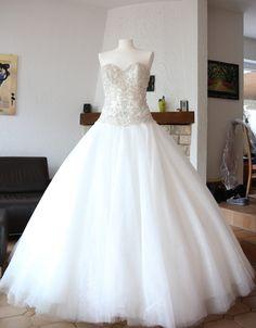 ♥ Märchenhaftes Brautkleid ♥  Ansehen: http://www.brautboerse.de/brautkleid-verkaufen/maerchenhaftes-brautkleid-2/   #Brautkleider #Hochzeit #Wedding