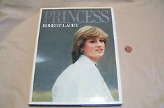 Princess Diana PRINCESS by Robert Lacy 1982 Hard Cover with Dust Jacket