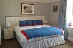 Llety Brynawel Dau Room – King Size Bedroom