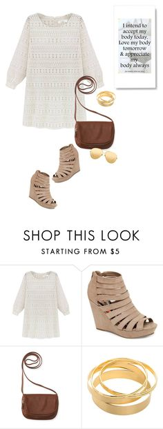 """""""Go To Dress"""" by youaresofashion ❤ liked on Polyvore featuring Madden Girl, Aéropostale, Linda Farrow and dress"""
