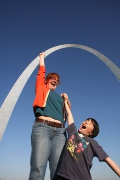 Fun things to fun or things you should know about St Louis starting with A -- the Arch, Anheuser-Busch & Alton