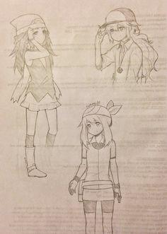 tootoki Pokemon trainer art