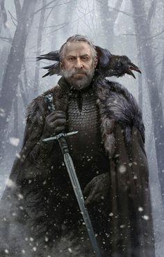 "Jeor ""Old Bear"" Mormont by Jortagul"
