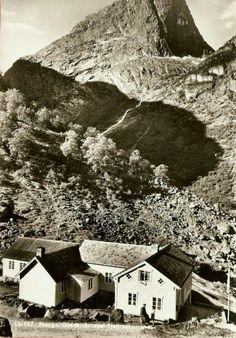 Sogn og Fjordane fylke Stryn kommune Olden i Nordfjord Brixdal fjellrestaurant Utg Normann 1950-tallet