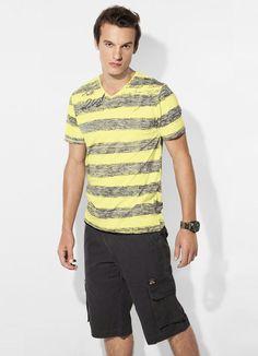 Camiseta Amarela Mineral