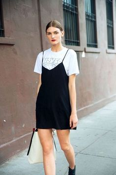 The perfect mini cami dress for '90s layering