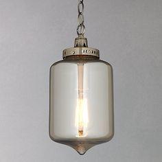 Buy John Lewis Christophe Smoked Lantern Pendant Online at johnlewis.com