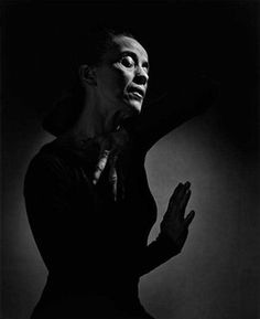 Martha Graham, 1948 - Photographer Yousuf Karsh