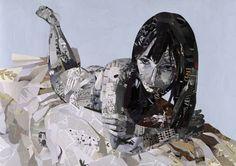 Patrick Bremer est un artiste anglais né à Brighton en 1982. Il a étudié la peinture au collège de Wimbledon et s'est spécialisé dans les portraits, à l'huile et en collages. Les travaux que je vous présente aujourd'hui sont en rapport avec le collage. Je trouve cette pratique et cet art as…