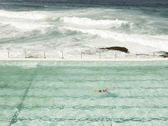Les paysages de Josef Hoflehner <3 Bondi Baths (Sydney, Australia, 2011) Patience