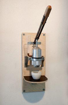 beta espresso maschine prototye Espresso Maker, Open Source, Coffee Machine, Manual, Alternative, Design, Simple, Wall, Check