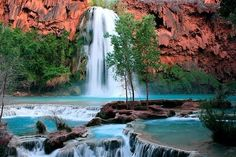 I love to traveling so this amazing place list of 10 Secret Places in America That Most Tourists Don't Know About for you enjoy it Grand Canyon Arizona, Havasu Falls Arizona, Havasupai Falls, Havasupai Arizona, Vacation Places, Places To Travel, Places To See, Vacations, Vacation List