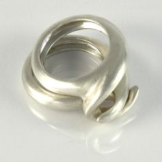 Combination Sterling Silver Ring  http://www.etsy.com/listing/60870045/combination-sterling-silver-ring-three