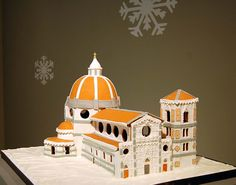 Duomo of Florence, Italy Visions of Gingerbread: The Sweetest Architects at the Stamford Museum, CT