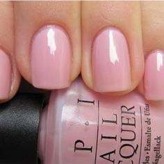 Opi pink-a-doodle, wearing now and loving it!