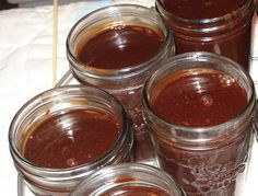 Homemade chocolate sauce recipe for canning, because when the Apocalypse happens you are going to want my chocolate.