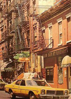 Greenwich Village, New York City, 1970's.