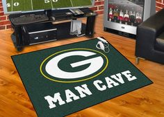 Customize any room in your house or office and show your team pride with this Green Bay Packers Man Cave All-Star by Fanmats. Put this mat in any room in your home to let your loved ones and guest kno