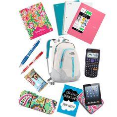 Back To School Highschool, School Supplies Highschool, First Day Of School, High School, Middle School Supplies, Middle School Hacks, Backpack Essentials, School Essentials, After School Schedule