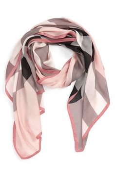 Free shipping and returns on Burberry 'Ultra Mega Check' Washed Mulberry Silk Scarf at Nordstrom.com. Instantly recognizable checks pattern a gauzy, ultra-lightweight scarf cut from fine Mulberry silk.