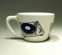 12oz cup turntable (white) from CircaCeramics $32