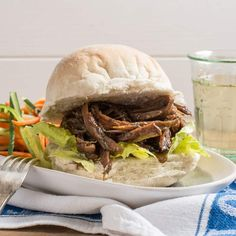 This Slow Cooker Pulled Lamb makes for the perfect plan ahead meal. Ideal for when time is short and bellies need filling. Serve as Pulled Lamb Sliders, in baps with salad, or with the full Sunday roast. Pulled Lamb Slow Cooker, Plan Ahead Meals, Mint Sauce, Sunday Roast, Slow Cooker Recipes, Eat, Cooking, Ethnic Recipes, Kochen