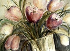 Neu in meiner Galerie bei OhMyPrints: Tulpen in Vase