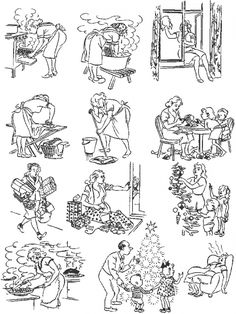 16Comics From Herluf Bidstrup, Who Understood This Crazy World Like NoOne Else