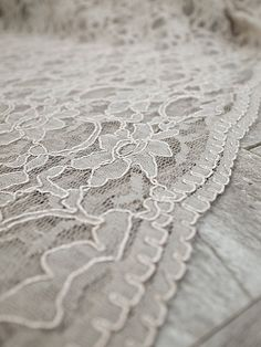 Heirloom Wedding Chuppah Canopy scallop lace by UrbanCollective, $240.00