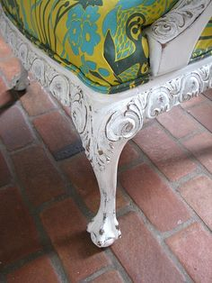 Finding Fabulous: A Victorian Chair...Transformed!