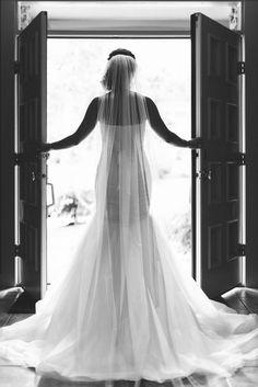Gorgeous classic wedding dress: http://www.stylemepretty.com/oregon-weddings/portland/2016/08/24/romantic-portland-oregon-wedding-intimate-ceremony/ Photography: Benjamin Clifford - http://benjamincliffordphotography.com/