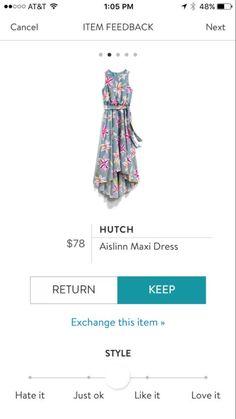 Bought from a Stitch Fix friend! Stitch Fix Dress, Stitch Fix Outfits, Fix Clothing, Love Clothing, Cool Outfits, Fashion Outfits, Women's Fashion, Stitch Fix Stylist, Style Inspiration