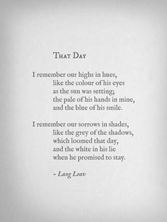 That Day.