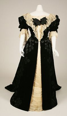 Robe - Maison Worth  - 1898