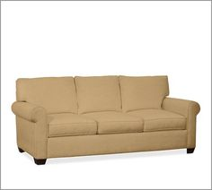 Buchanan Sofa | Pottery Barn  Couch color::: soft neutral