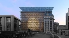 This Unusual New EU Building Has A Beacon Of Light At Its Heart