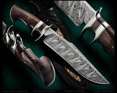"maker: Sam Lurquin JS 'DesRosiers Project' Tsavo Subhilt Bog Oak handle BadasSam Damascus blade Paul Long sheath with Diamondback Rattlesnake inlay blade length: 10 1/2"" overall length: 15 3/4""  #calebroyerphotography #knife #knifemaking #knives #customknives #handmadeknives #knifecommunity #handmade #knifeart #knifepics #imagecalebroyer #SamLurquin #Belgium #damascussteel #fightingknife #fighter #PaulLong #sheath"