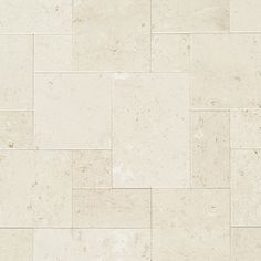 Limestone Tile - Aegean Collection - Myra White / Opus Pattern Set / Brushed