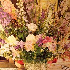 Summer flowers - Mark & Duane Hampton house, Southampton. Photograph by Horst.
