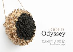 GOLD ODYSSEY - Danijela Bilic handmade bags